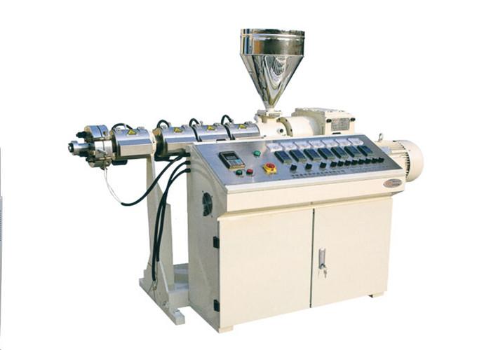 Single Screw Small Plastic Extruder Machine Low Energy